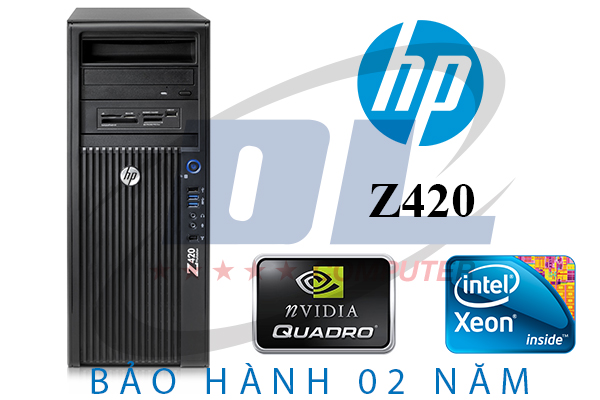 Máy tính HP Z420 Workstation Xeon E5 Quad core mạnh mẽ và đẳng cấp