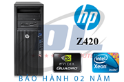 HP Z420 WorkStation/ Xeon E5 1620/ VGA GTX 750Ti / Dram3 16Gb, HDD 500Gb+SSD 120Gb