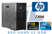 HP Z800 Workstation/ Xeon X5550/ VGA GTX 960 / Dram3 16Gb/ SSD 128Gb / HDD 500G